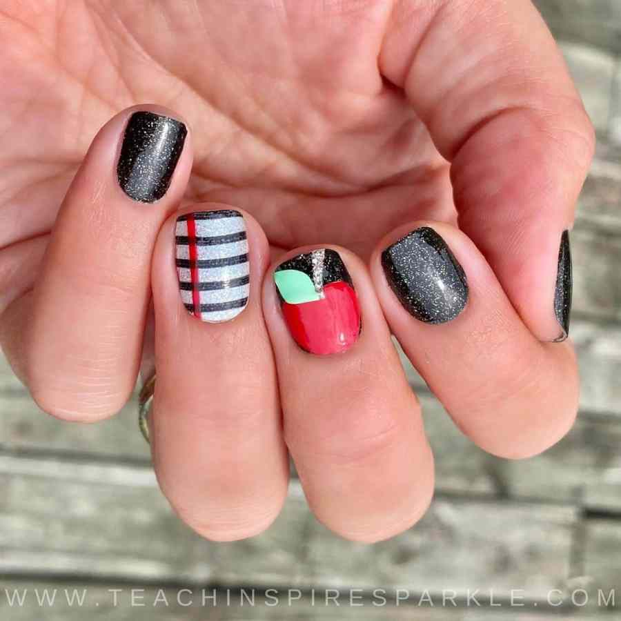 Back to School Nail 2021080704 - The Perfect Back to School Nail Designs
