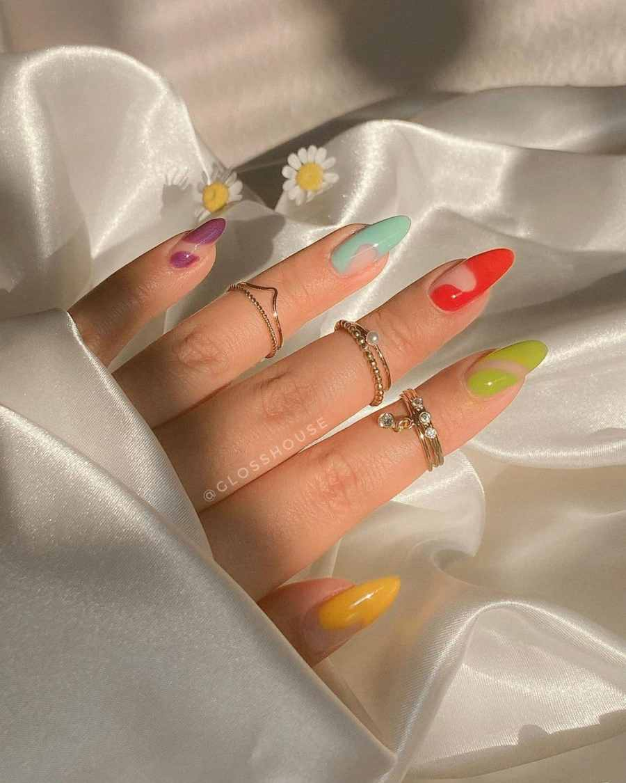 Green Nails 2021082213 - The Most Fashionable Green Nails to Impress You