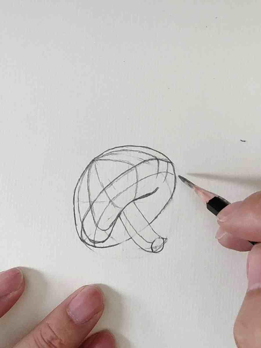 How to Draw a Mushroom 2021081004 - How to Draw a Mushroom for Beginners