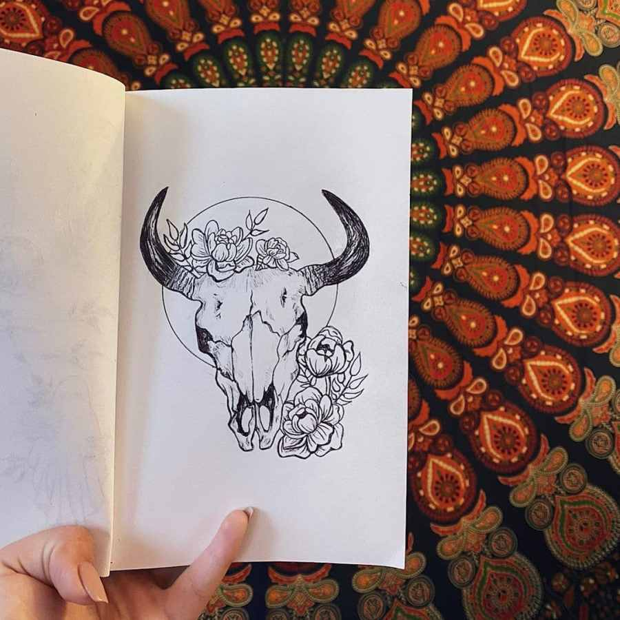 Taurus Tattoos 2021082303 - The Hottest Taurus Tattoos and Meaning