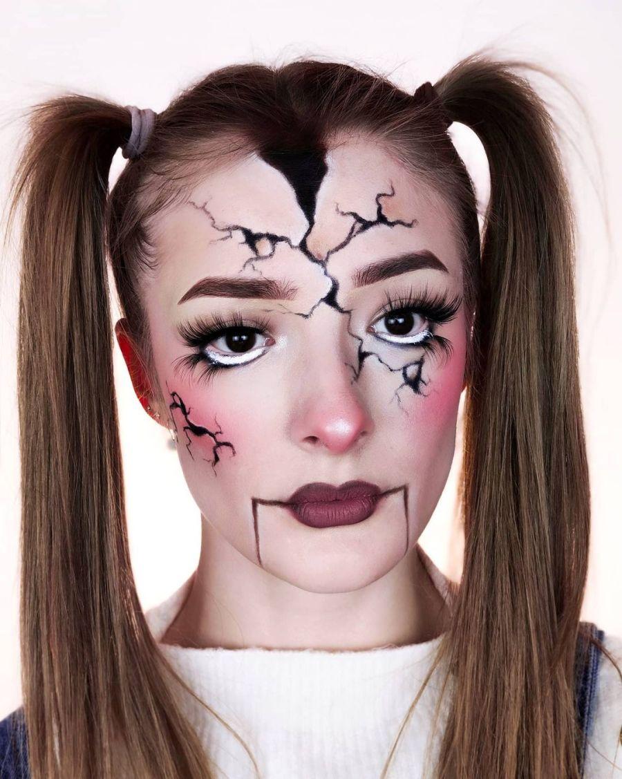 Easy Halloween Makeup 2021091008 - 10+ Easy Halloween Makeup Ideas Anyone Can Do Easily