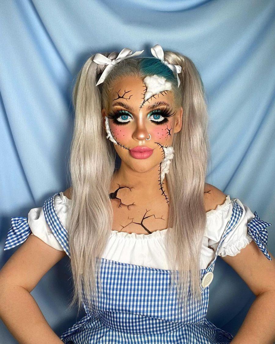 Easy Halloween Makeup 2021091010 - 10+ Easy Halloween Makeup Ideas Anyone Can Do Easily