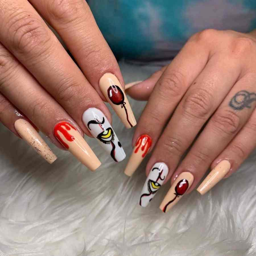 Halloween Nail Art 2021091916 - 20 Halloween Nail Art Designs Easy to Copy