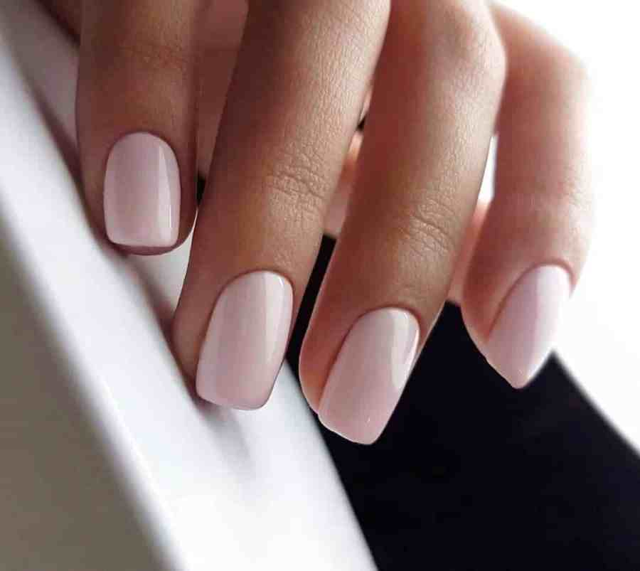Nude Nails 2021092202 - 18 Nude Nails Help You Create a Stylish Look