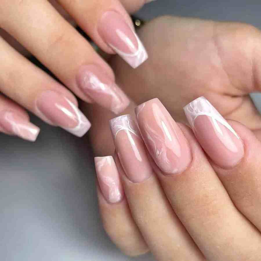 Nude Nails 2021092203 - 18 Nude Nails Help You Create a Stylish Look