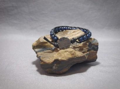 Single wrap bracelet 8mm Lapis