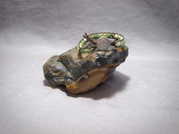 Single wrap bracelet 6mm Serpentine