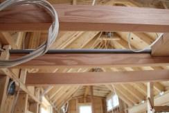 Custom conduit for light boxes.