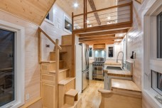 Stairs to bedroom loft