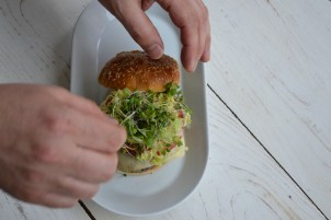 Locally sourced, locally crafted burgers at Lowell Burger Company.