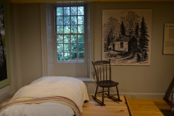 Furniture from Henry David Thoreau's original cabin at The Concord Museum.