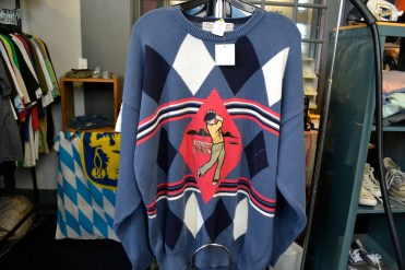 One-of-a-kind sweaters and more.