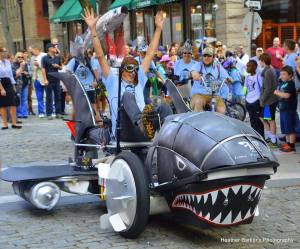 Lowell Kinetic Sculpture Race Iconic Fish