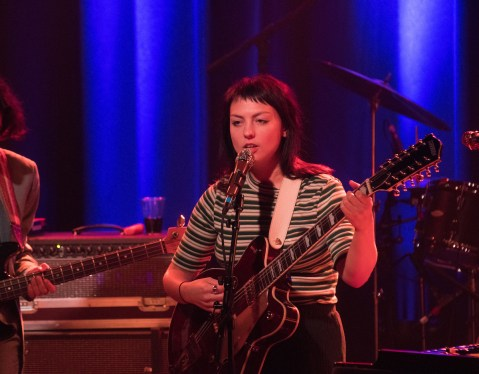 Angel Olsen at The Sinclair, Cambridge. HOWL Magazine photo by Tory Germann.