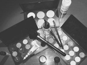 Tools of the trade. A glimpse of makeup artist Barbara Rodriguez's beauty arsenal.