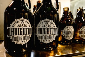 Navigation Brewing Co. growlers