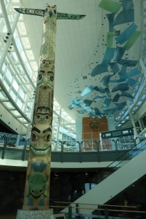 Art in Vancouver airport