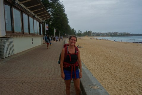 After my 6 mile walk to Manly beach