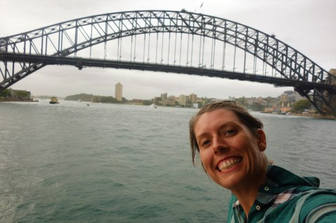 On ferry ride back from Manly to Circular Quay
