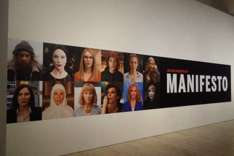 Art Gallery of New South Wales - Cate Blanchett as 13 different roles in a video installation in the gallery