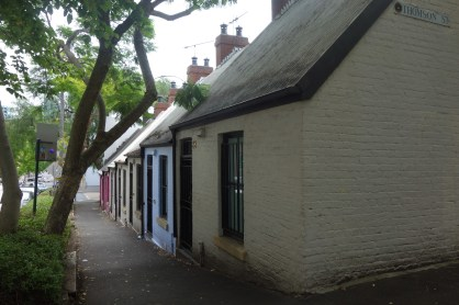 Cute little cottages in Surry Hills