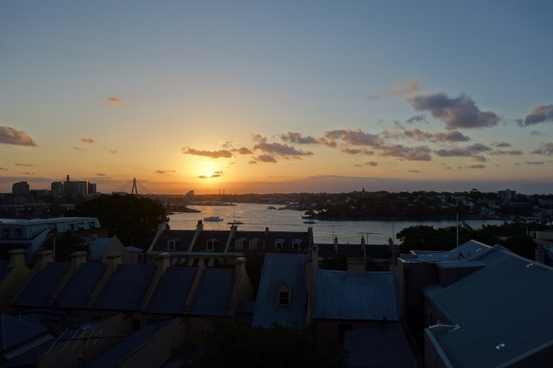 Sunset from Sydney Observatory looking towards Darling Harbour