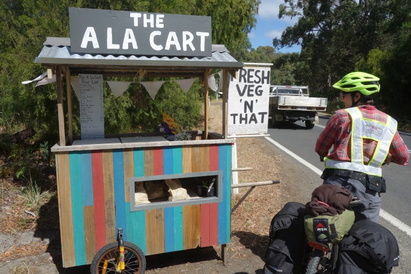 Fresh veg stall