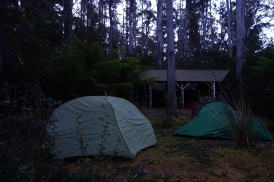 Our camp for the night