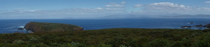 Looking out to the Southern Ocean from the lighthouse