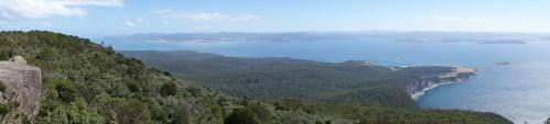 Stunning vistas from Bishop and Clerk