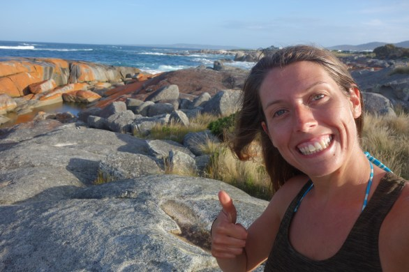 Great Eastern Drive by bike complete - The Gardens, Bay of Fires