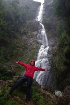 Me, slightly moist, at Montezuma Falls