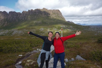 Us at Cradle Mountain