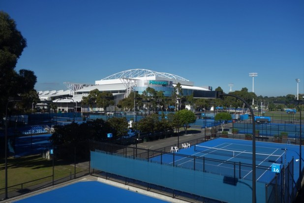 Melbourne Park, where the Australian Open is held