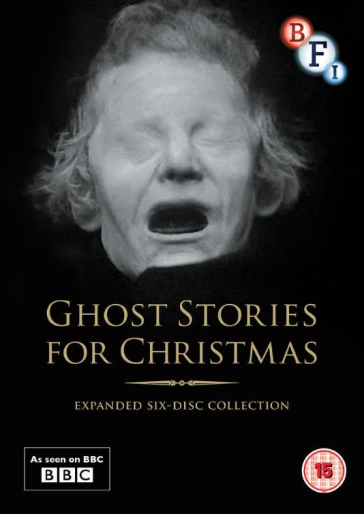 Cover of the BBC's Ghost Stories for Christmas DVD release