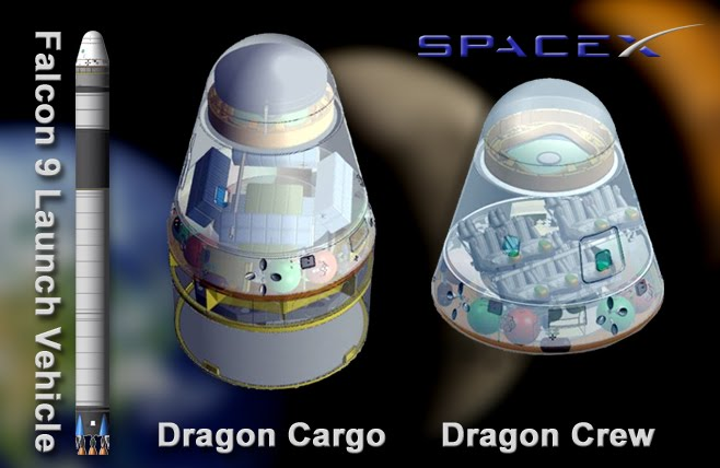 spacex falcon spacecraft