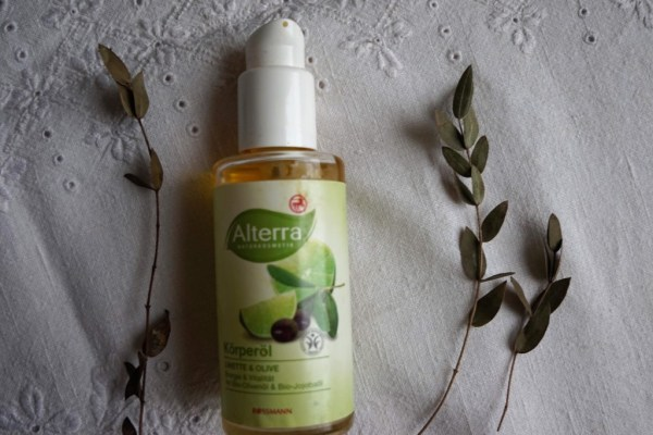 Alterra Body oil with lime and olive oil