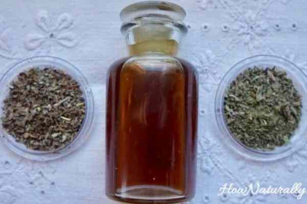 DIY herbal mouthwash, Homemade and fluoride-free
