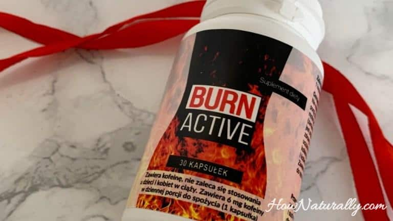 BURN ACTIVE for slimming – effects after a month