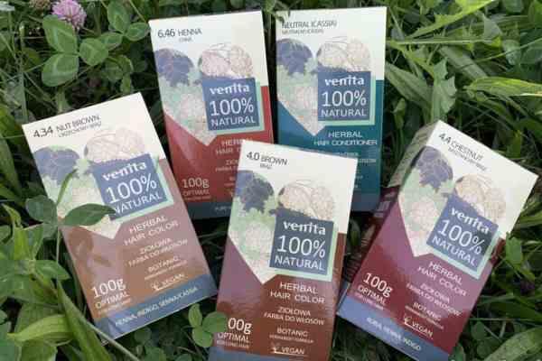Venita, herbal hair dyes   henna 100% natural