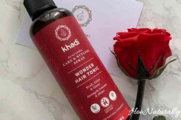 Khadi, strengthening hair mist, care and styling