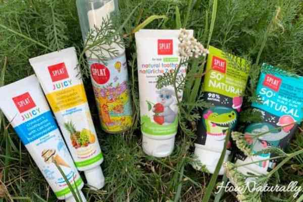 Splat Kids and Junior   toothpastes not only for children