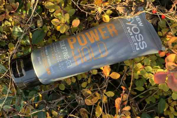 Syoss men power hold | gel for curly hair