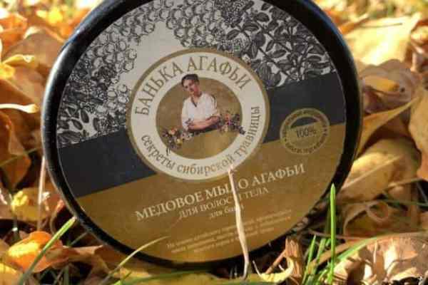 Bania Agafia, Honey soap for hair and body