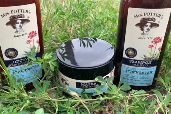 Mrs Potter's Triple Root Strenghten, new hair products