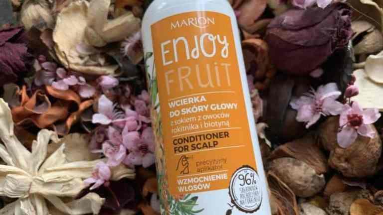 Marion, Enjoy Fruit, scalp conditioner lotion