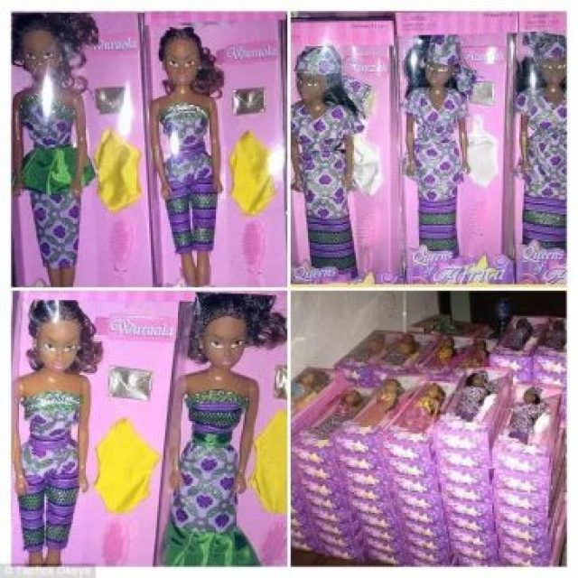 Made In Nigeria Doll
