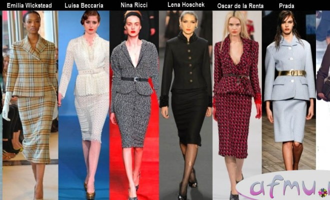 Women's Suits Fall-Winter 2013