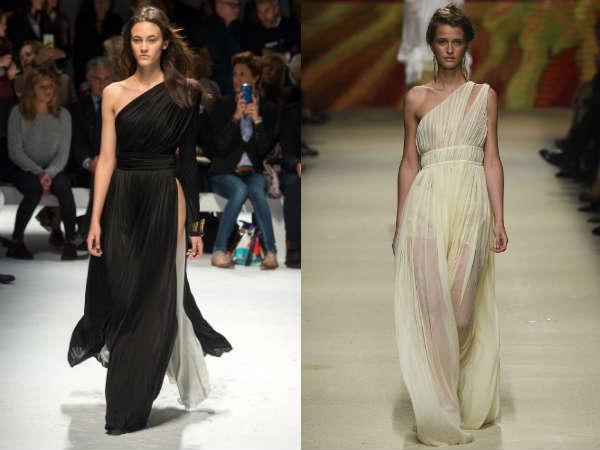 Dresses Spring Summer 2017: asymmetry