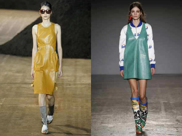 Spring-Summer 2017 dresses: fabric